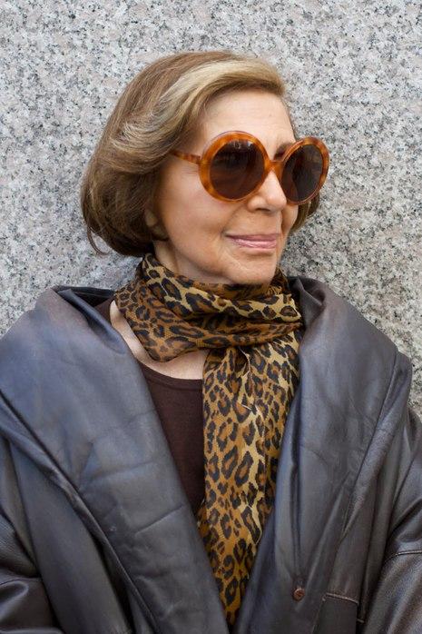 У многих с возрастом чувство стиля только усиливается. Леди и