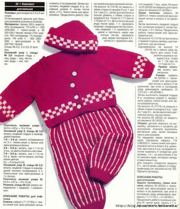 В контакте вязание для детей спицами 94