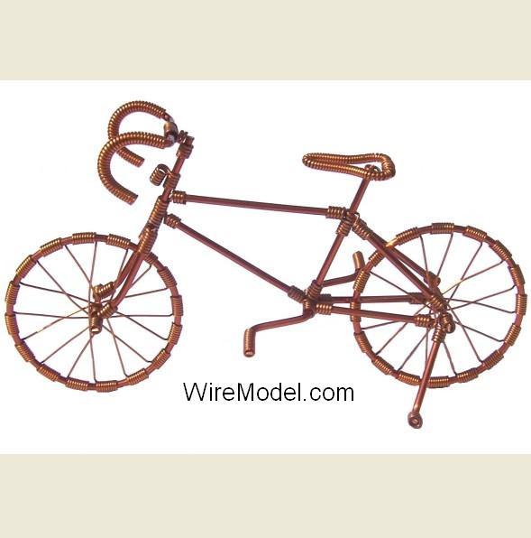 Велосипеды из проволоки своими руками