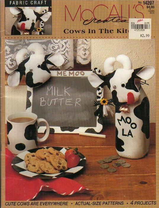 Cows in the Kitchen - McCall's (537x700, 97Kb)