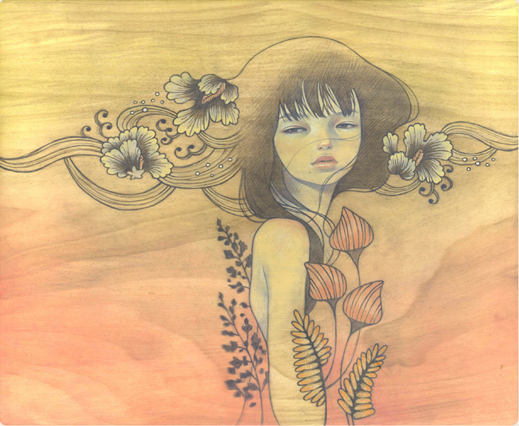 Audrey Kawasaki & The Egg - Lost at Sea 01 (519x426, 165Kb)