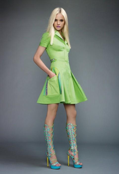 Versace весна-лето 2011 фото из каталога.