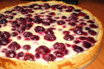 пирог с замороженной клубники рецепт с фото