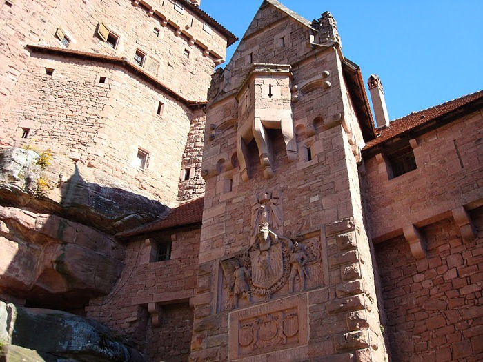 Замок Верхний Кенигсбург (Chateau du Haut-Koenigsbourg) 15000
