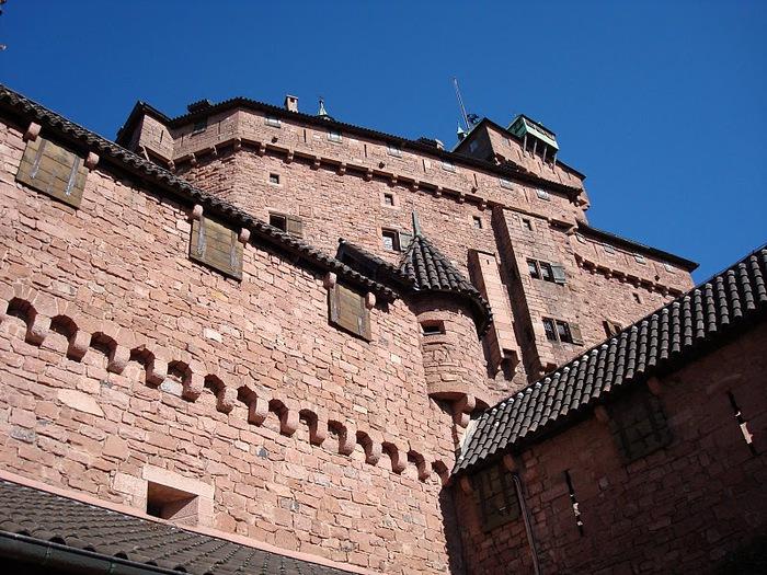 Замок Верхний Кенигсбург (Chateau du Haut-Koenigsbourg) 29057