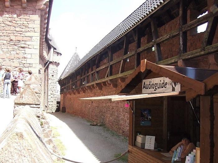 Замок Верхний Кенигсбург (Chateau du Haut-Koenigsbourg) 56788