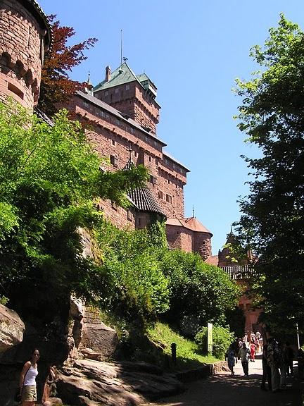 Замок Верхний Кенигсбург (Chateau du Haut-Koenigsbourg) 43981
