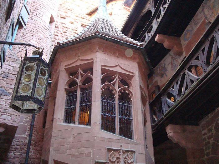 Замок Верхний Кенигсбург (Chateau du Haut-Koenigsbourg) 85444