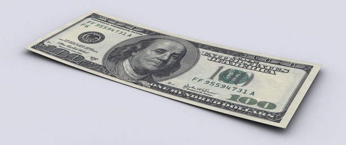 Долг США в 100-долларовых банкнотах 01 (700x294, 26Kb)