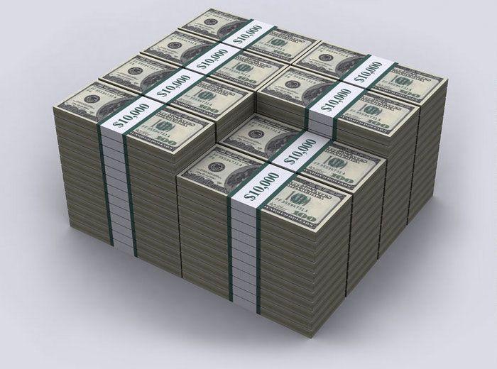 Долг США в 100-долларовых банкнотах 03 (700x520, 58Kb)