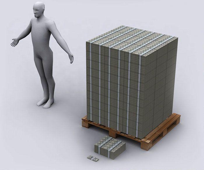 Долг США в 100-долларовых банкнотах 04 (700x583, 43Kb)