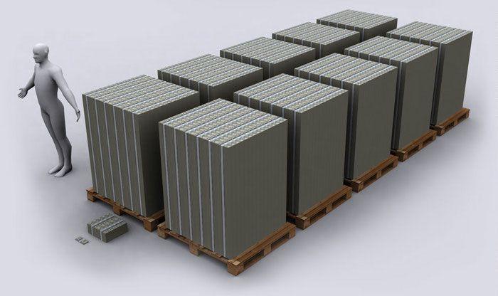 Долг США в 100-долларовых банкнотах 05 (700x416, 37Kb)