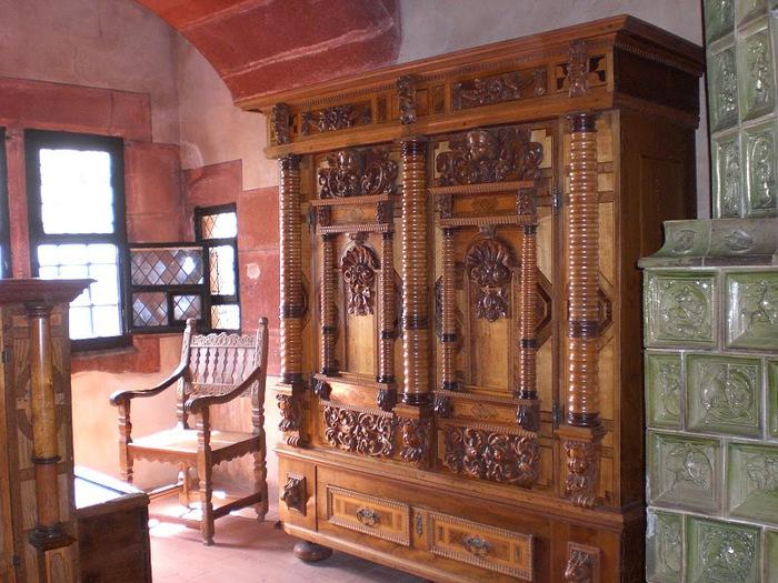 Замок Верхний Кенигсбург (Chateau du Haut-Koenigsbourg) 78875