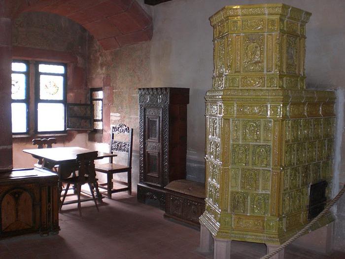 Замок Верхний Кенигсбург (Chateau du Haut-Koenigsbourg) 57789