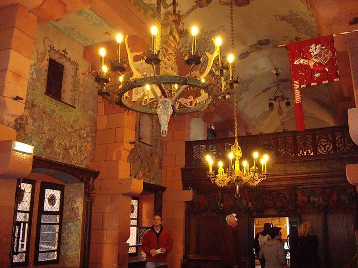 Замок Верхний Кенигсбург (Chateau du Haut-Koenigsbourg) 61241