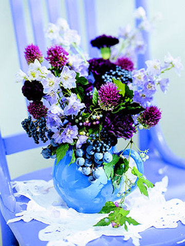 Фото красивых букетов цветов из полевых цветов