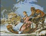 Превью Волшебная зима. арт-461  Гобелен-Сет Румыния (200x154, 15Kb)