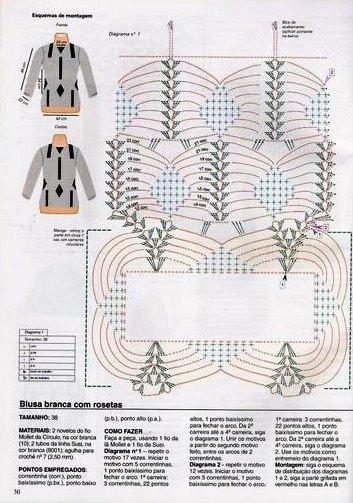 mother gifts: net crochet pattern