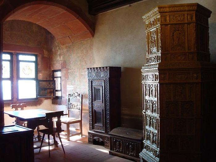 Замок Верхний Кенигсбург (Chateau du Haut-Koenigsbourg) 95220