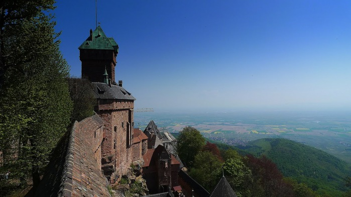Замок Верхний Кенигсбург (Chateau du Haut-Koenigsbourg) 35131