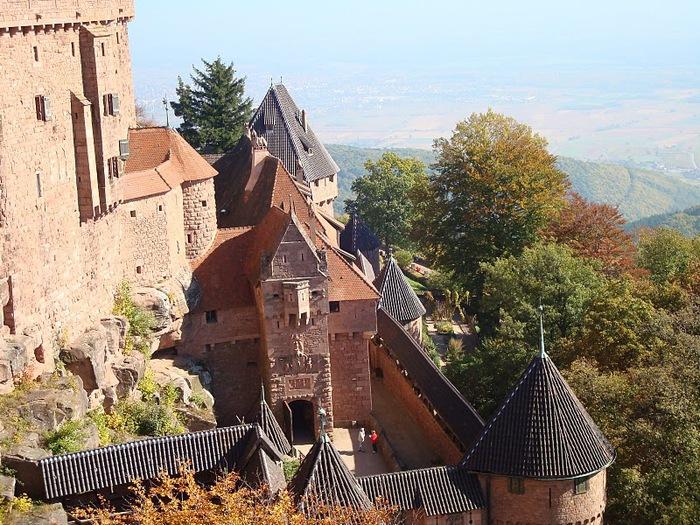 Замок Верхний Кенигсбург (Chateau du Haut-Koenigsbourg) 44700