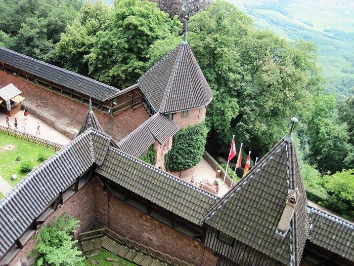 Замок Верхний Кенигсбург (Chateau du Haut-Koenigsbourg) 25407