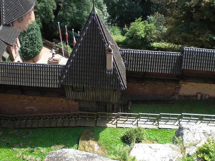 Замок Верхний Кенигсбург (Chateau du Haut-Koenigsbourg) 96247