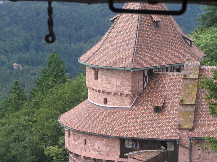 Замок Верхний Кенигсбург (Chateau du Haut-Koenigsbourg) 41805