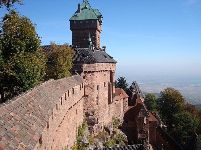 Замок Верхний Кенигсбург (Chateau du Haut-Koenigsbourg) 29952