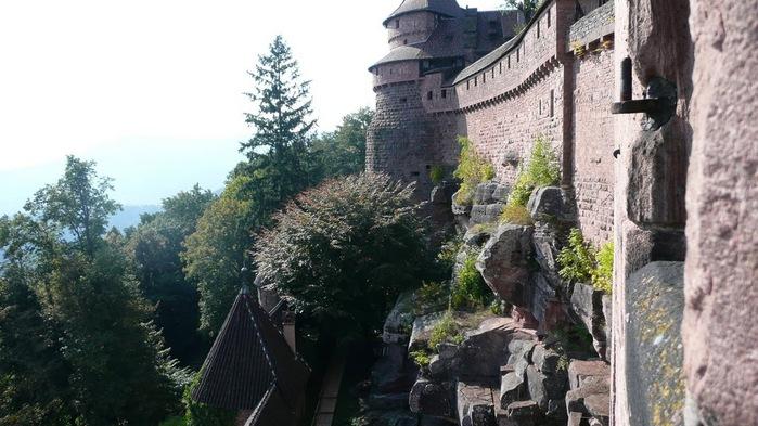 Замок Верхний Кенигсбург (Chateau du Haut-Koenigsbourg) 46829