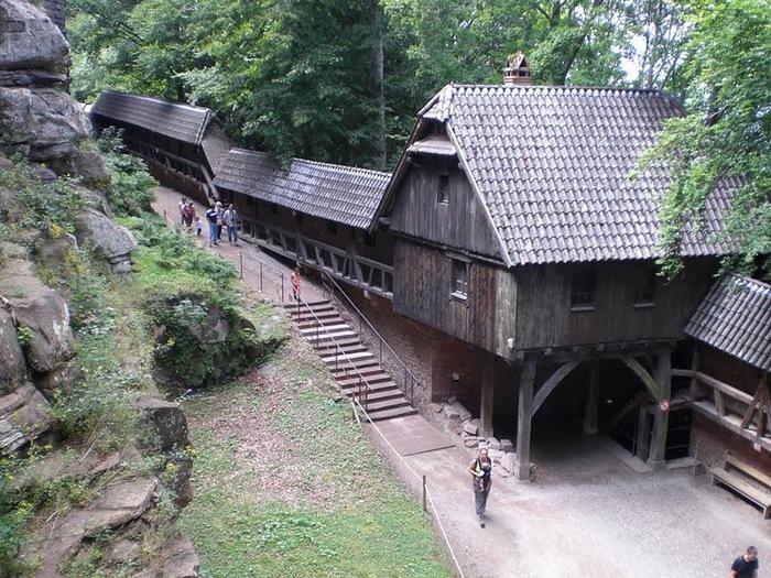 Замок Верхний Кенигсбург (Chateau du Haut-Koenigsbourg) 97328