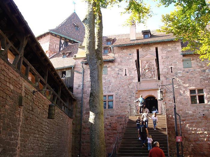 Замок Верхний Кенигсбург (Chateau du Haut-Koenigsbourg) 26704