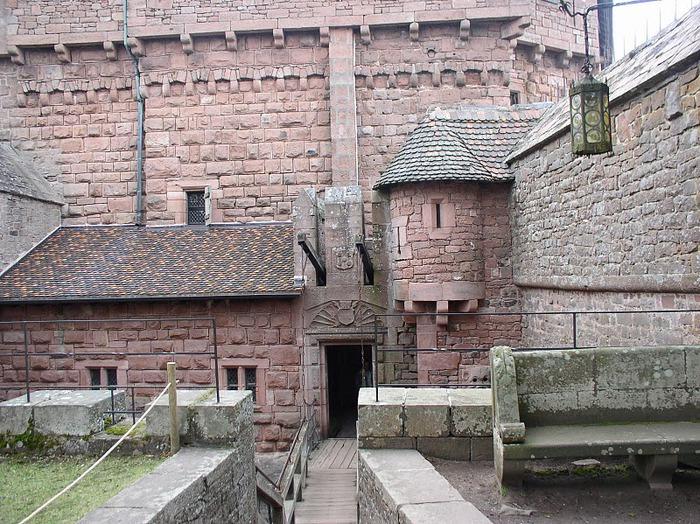 Замок Верхний Кенигсбург (Chateau du Haut-Koenigsbourg) 43554
