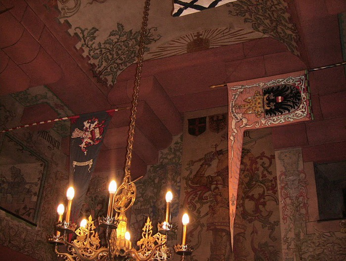 Замок Верхний Кенигсбург (Chateau du Haut-Koenigsbourg) 26395