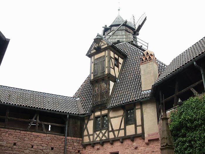 Замок Верхний Кенигсбург (Chateau du Haut-Koenigsbourg) 14190