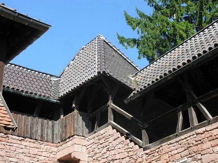 Замок Верхний Кенигсбург (Chateau du Haut-Koenigsbourg) 63069