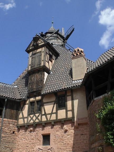 Замок Верхний Кенигсбург (Chateau du Haut-Koenigsbourg) 28662
