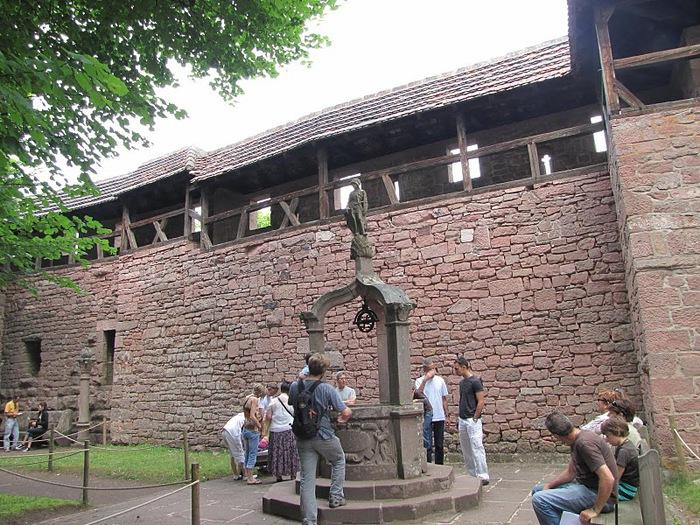 Замок Верхний Кенигсбург (Chateau du Haut-Koenigsbourg) 39769