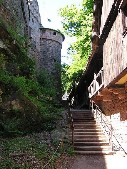 Замок Верхний Кенигсбург (Chateau du Haut-Koenigsbourg) 65276