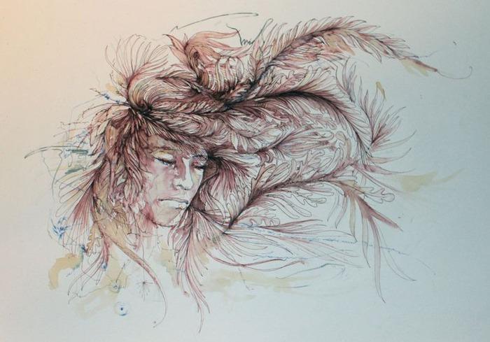 Аанглийский художник Carne Griffiths 4