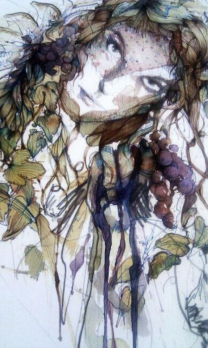 Аанглийский художник Carne Griffiths 6
