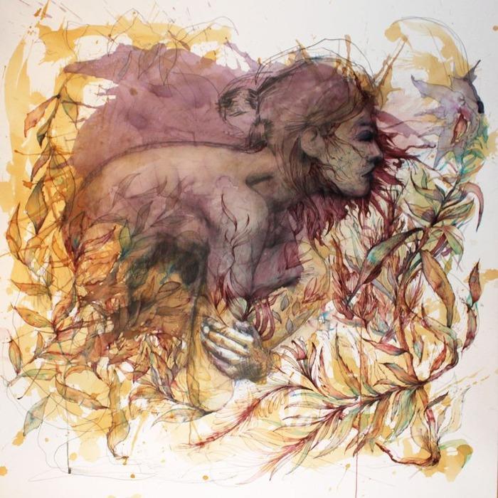Аанглийский художник Carne Griffiths 10