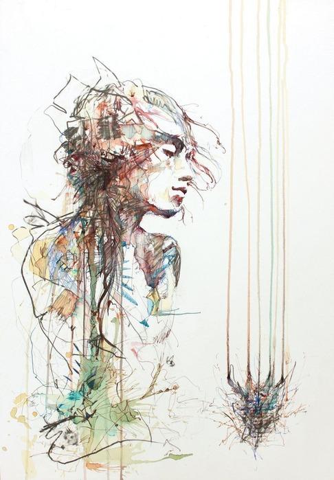 Аанглийский художник Carne Griffiths 12