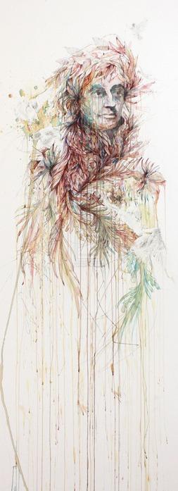 Аанглийский художник Carne Griffiths 14