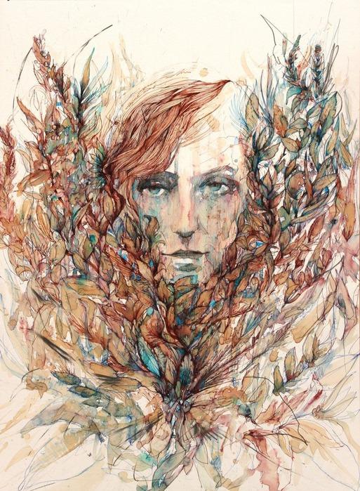 Аанглийский художник Carne Griffiths 16