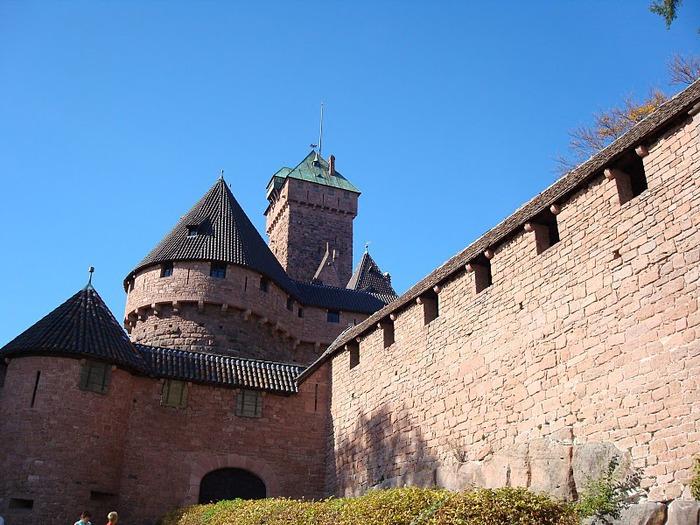 Замок Верхний Кенигсбург (Chateau du Haut-Koenigsbourg) 92721