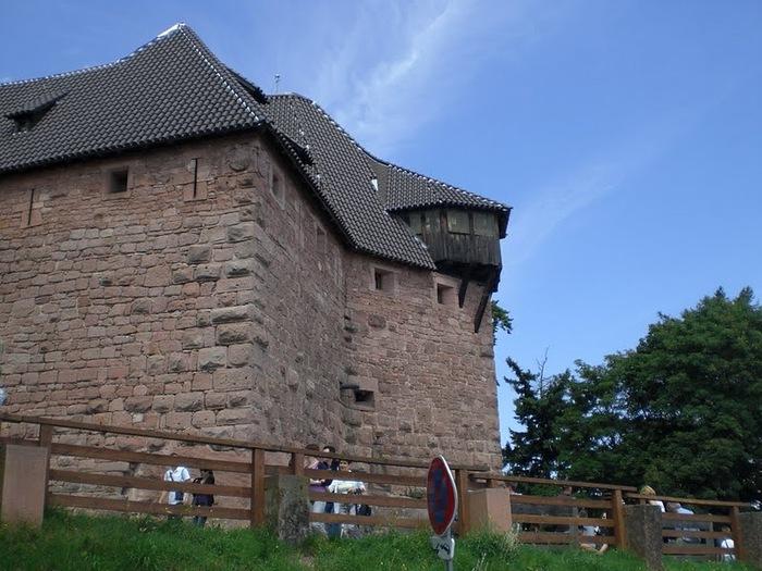 Замок Верхний Кенигсбург (Chateau du Haut-Koenigsbourg) 56485