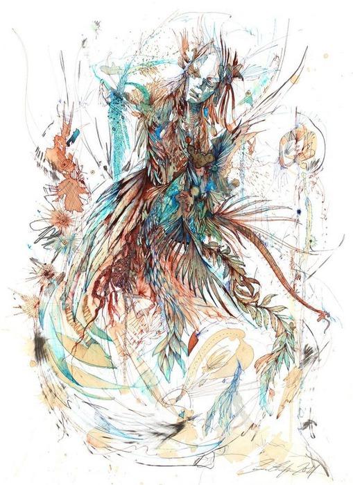 Аанглийский художник Carne Griffiths 31