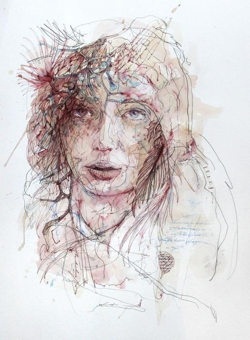Аанглийский художник Carne Griffiths 32
