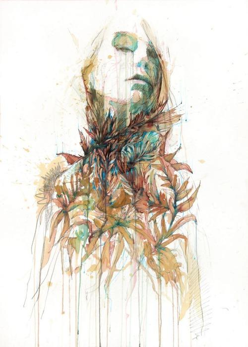 Аанглийский художник Carne Griffiths 37